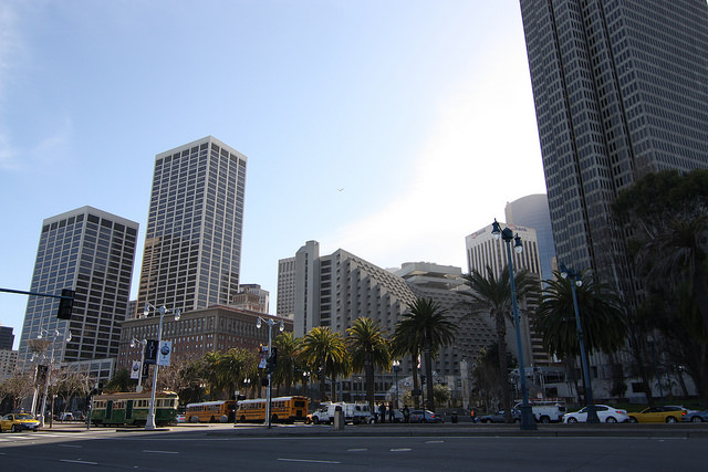 Parking downtown San Francisco