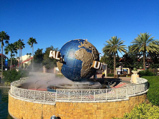 Orlando, Florida road trip, Universal Orlando Resort
