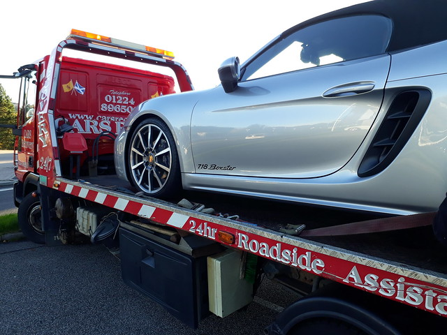 rental car breakdown