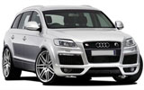 BUDGET Car rental Tuzla - Airport Suv car - Audi Q7