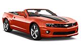 THRIFTY Car rental Grosse Pointe Park Convertible car - Chevrolet Camaro Convertible