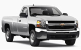 ENTERPRISE Car rental Baltimore - Airport Van car - Chevrolet Silverado
