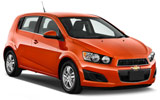 BUDGET Car rental Calgary - Airport Compact car - Chevrolet Sonic