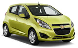 DOLLAR Car rental Herzliya Mini car - Chevrolet Spark