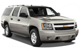 ENTERPRISE Car rental Baltimore - Airport Suv car - Chevrolet Suburban