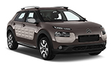 CIRCULAR Car rental Dalaman - Domestic Airport Compact car - Citroen C4 Cactus