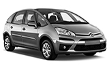 EUROPCAR Car rental Rimini - City Centre Van car - Citroen C4 Picasso