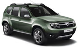 DIRENT Car rental Marrakech - Airport Suv car - Dacia Duster