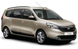 CIRCULAR Car rental Dalaman - Domestic Airport Van car - Dacia Lodgy