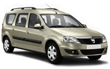 LOW COST CARS Car rental Bourgas Standard car - Dacia Logan MCV