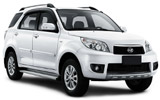 AVIS Car rental Mahe - Port Victoria Suv car - Daihatsu Terios