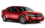 BUDGET Car rental Dearborn Standard car - Dodge Avenger