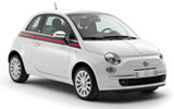 HERTZ Car rental Harstad/narvik - Airport Mini car - Fiat 500