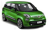SIXT Car rental Tuzla - Airport Compact car - Fiat 500L