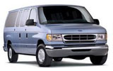 PAYLESS Car rental Baltimore - Airport Van car - Ford Club Wagon