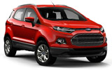ENTERPRISE Car rental Baltimore - Airport Suv car - Ford Ecosport