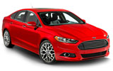 BUDGET Car rental Baltimore - Airport Fullsize car - Ford Fusion