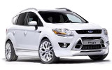 SIXT Car rental Harstad/narvik - Airport Suv car - Ford Kuga