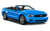 HERTZ DREAM COLLECTION Car rental Lisbon - Downtown Convertible car - Ford Mustang Convertible
