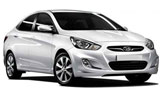 BUDGET Car rental Herzliya Standard car - Hyundai Accent