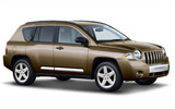 HERTZ Car rental Grosse Pointe Park Suv car - Jeep Compass