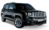 HERTZ Car rental Kavala - Airport - Megas Alexandros Economy car - Jeep Renegade