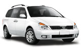 EUROPCAR Car rental Haifa Van car - Kia Carnival