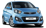 ALAMO Car rental Guatemala City - Centre Compact car - Kia Picanto
