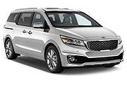 SIXT Car rental San Juan - Sears - Plaza Las Americas Van car - Kia Sedona