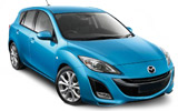 SIXT Car rental Haifa Compact car - Mazda 3