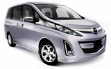EUROPCAR Car rental Kushiro - Airport Van car - Mazda Biante 2.0