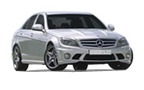SIXT Car rental Harstad/narvik - Airport Fullsize car - Mercedes C Class