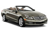EUROPCAR Car rental Aarau Convertible car - Mercedes E Class Convertible