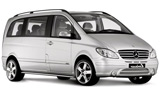 EUROPCAR Car rental Lisbon - Downtown Van car - Mercedes Viano