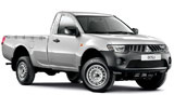 GUATEMALA RENT A CAR Car rental Guatemala City - Centre Van car - Mitsubishi L200 Pickup