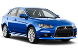 GUATEMALA RENT A CAR Car rental Guatemala City - Centre Standard car - Mitsubishi Lancer