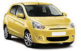 THRIFTY Car rental Baltimore - Airport Mini car - Mitsubishi Mirage