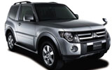 BUDGET Car rental Montego Bay - Sangster Intl. Airport Suv car - Mitsubishi Pajero