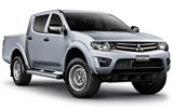 HERTZ Car rental Niteroi - Central Van car - Mitsubishi Sportero