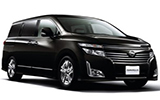 NISSAN Car rental Kushiro - Airport Van car - Nissan Elgrand