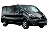 ABBYCAR Car rental Athens - Piraeus - Port Van car - Nissan Primastar
