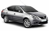 AVIS Car rental Libreville - Airport Compact car - Nissan Sunny