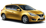 ISLAND Car rental Montego Bay - Sangster Intl. Airport Compact car - Nissan Tiida