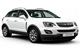 SIXT Car rental Bourgas Suv car - Opel Antara
