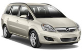 ALAMO Car rental Tuzla - Airport Van car - Opel Zafira