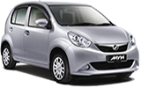 KASINA Car rental Penang - City Centre Economy car - Perodua Myvi