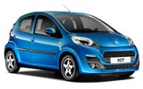 AUTO-UNION Car rental Lemnos Island Mini car - Peugeot 107