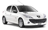 INTERRENT Car rental Marrakech Economy car - Peugeot 206