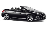 HERTZ Car rental Baie Mahault - Jarry Convertible car - Peugeot 308 Convertible