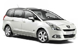 HERTZ Car rental Baie Mahault - Jarry Van car - Peugeot 5008